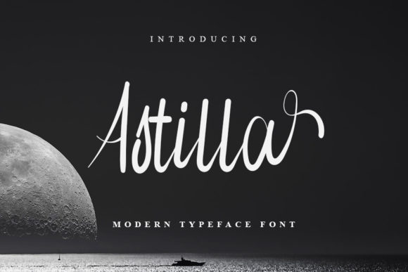 Print on Demand: Astilla Script & Handwritten Font By NYA Letter
