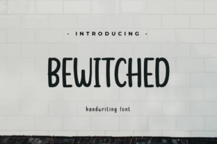 Print on Demand: Bewitched Script & Handwritten Font By twinletter