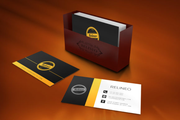 Business Card Mockup #2 Graphic Product Mockups By Relineo