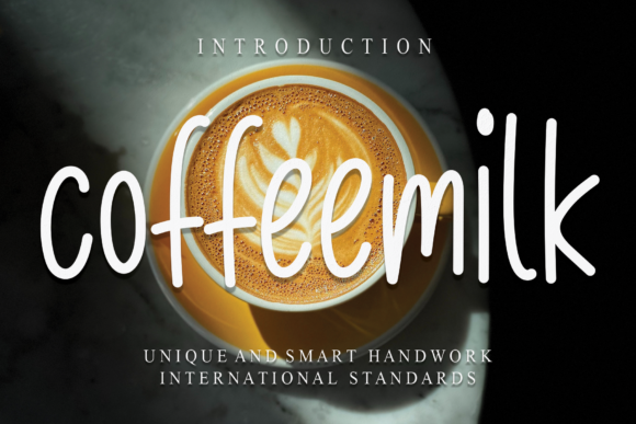 Print on Demand: Coffeemilk Script & Handwritten Font By andikastudio