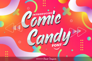 Print on Demand: Comic Candy Script & Handwritten Font By Beast Designer