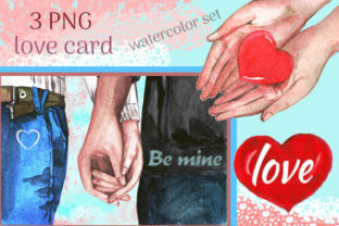 Print on Demand: Couple Clipart Valentine's Day, Love Graphic Illustrations By Iva Art