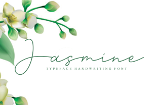 Print on Demand: Jasmine Script & Handwritten Font By andikastudio