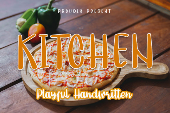 Print on Demand: Kitchen Script & Handwritten Font By NYA Letter