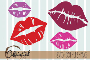 Lips - Kisses - Valentines Day Graphic Crafts By kaitlynplynch