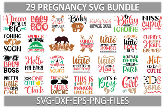 Pregnancy Svg Graphic Print Templates By Sellzz