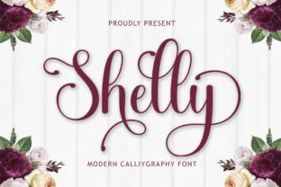 Print on Demand: Shelly Script & Handwritten Font By madjack.font