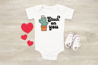 Stuck on You Cactus - Valentines Day Graphic Crafts By kaitlynplynch