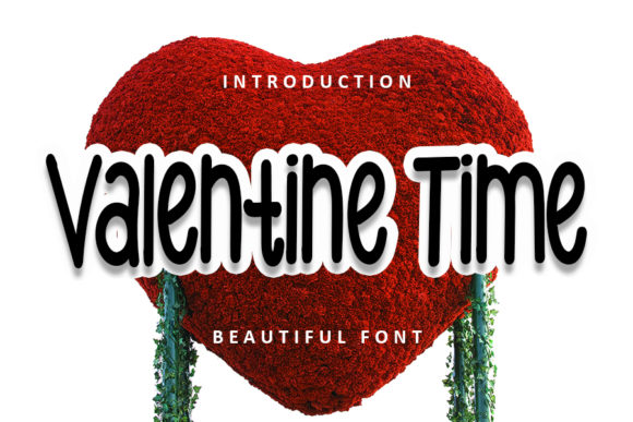 Print on Demand: Valentine Time Display Fuente Por FL Space