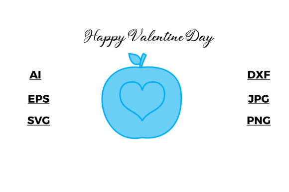 Valentine's - Blue Ui Illustration Arts Graphic Illustrations By faykproject