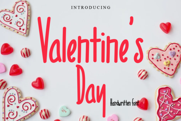 Print on Demand: Valentine's Day Script & Handwritten Font By Letterpen