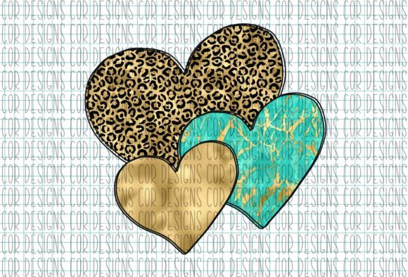 Print on Demand: Hearts Graphic Crafts By designscor