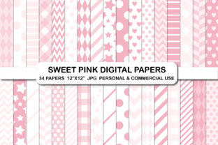 Pink Love Background Digital Paper Pack Graphic Backgrounds By bestgraphicsonline