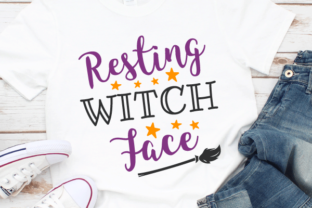 Resting Witch Face Svg Graphic Crafts By kaoticsvgdesigns