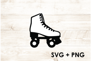 Print on Demand: Roller Skate Derby SVG Graphic Print Templates By Too Sweet Inc