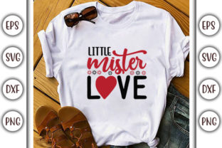 Print on Demand: Valentine's Day Design, Little Mister Graphic Print Templates By GraphicsBooth
