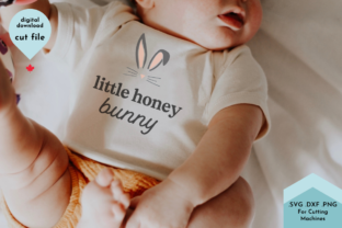 Print on Demand: Easter Shirt Svg, Little Bunny Ears Graphic Crafts By Lettershapes