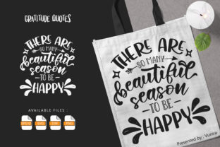 Print on Demand: Gratitude   Lettering Quotes Graphic Crafts By Vunira