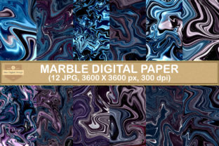 Print on Demand: Marble Digital Papers Background Graphic Backgrounds By SineDigitalDesign