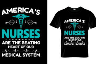 Print on Demand: Nurse T Shirt Design, Vector, EPS,PNG 21 Graphic Print Templates By merchbundle