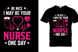 Print on Demand: Nurse T Shirt Design, Vector, EPS,PNG 30 Grafik Druck-Templates von merchbundle