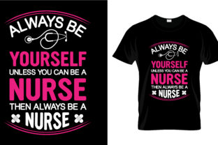 Print on Demand: Nurse T Shirt Design, Vector, EPS,PNG 46 Grafik Druck-Templates von merchbundle