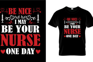 Print on Demand: Nurse T Shirt Design, Vector, EPS,PNG 52 Graphic Print Templates By merchbundle