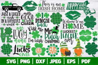 St Patrick's Day Bundle SVG | Graphic Crafts By SeventhHeaven Studios