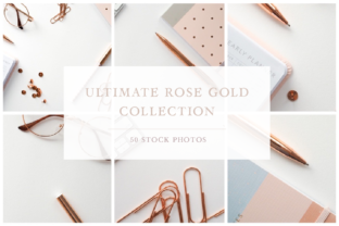 The Ultimate Rose Gold Collection Graphic Photos By Jess Bailey