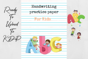 Print on Demand: ABC Handwriting Workbook for Kids Pro Graphic Coloring Pages & Books Kids By TopStorePro