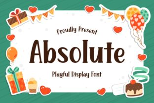 Print on Demand: Absolute Display Font By Fype Co.