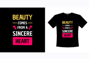 Beauty Come from a Sincere Heart Graphic Illustrations By bolakaretstudio