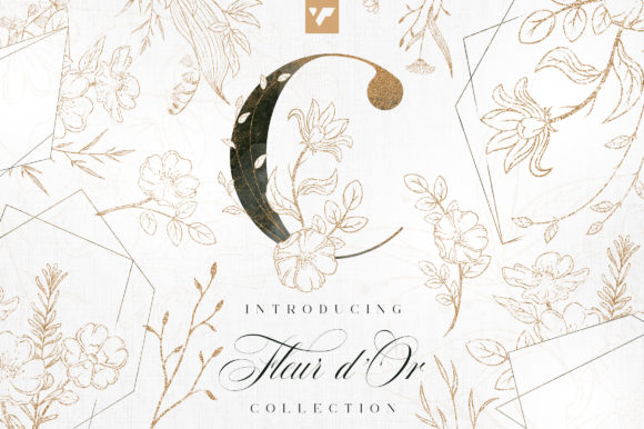 Print on Demand: Fleur D'or Graphic Collection Graphic Illustrations By vladfedotovv