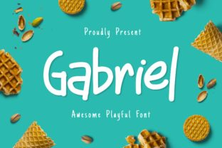 Print on Demand: Gabriel Display Font By Fype Co.