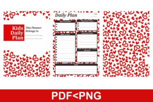 Print on Demand: KDP with Love Patterns Theme Print Graphic KDP Interiors By Arsa Adjie