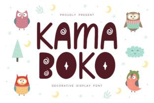 Print on Demand: Kamaboko Decorative Font By Fype Co.
