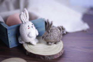 My Tiny Bunnies (PDF Knitting Pattern) Graphic Knitting Patterns By Cheryx