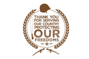 Print on Demand: Thank You for Serving Our Country Graphic Illustrations By baraeiji