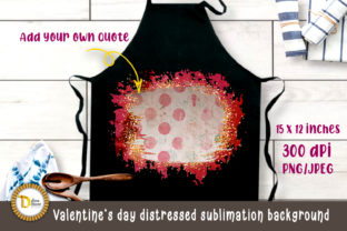 Valentine's Day Distressed Sublimation Graphic Crafts By dina.store4art
