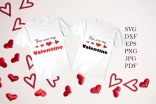 Print on Demand: You Are My Valentine Graphic Illustrations By JulijaArtStudio