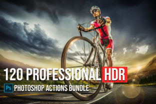 120 Master HDR Photoshop Actions Collection Graphic Actions & Presets By Creative Creator