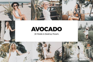 20 Avocado Lightroom Presets and LUTs Graphic Actions & Presets By SparkleStock