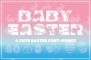 Print on Demand: Baby Easter Display Font By KtwoP