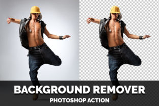 Background Remover Photoshop Action Graphic Actions & Presets By Creative Creator
