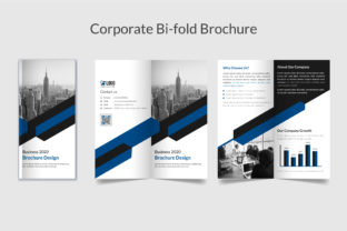 Business Bifold Brochure Template Graphic Print Templates By GraphicHut