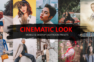 Cinematic Lightroom Preset Graphic Actions & Presets By George Khelashvili