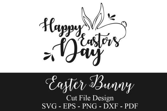 Easter Bunny SVG Graphic Crafts By zhyecarther
