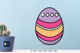 Print on Demand: Easter Day Egg Decoration, Sublimation Graphic Illustrations By Na Punya Studio