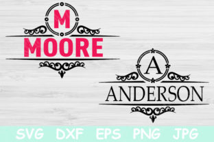 Family Name Svg, Mailbox Monogram Svg Graphic Crafts By TiffsCraftyCreations