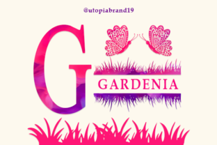Print on Demand: Gardenia Decorative Font By utopiabrand19